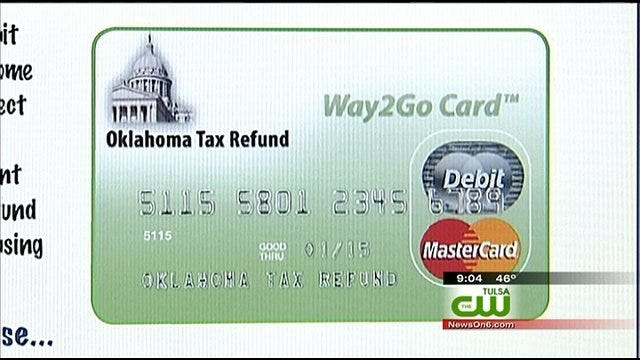 Tax Refunds Issued On Debit Cards