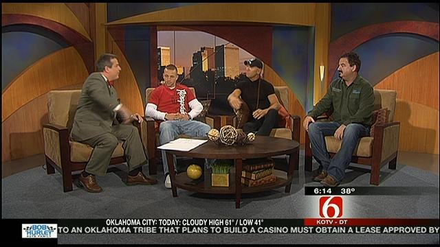 Father And Son From Swamp People Visit Six In The Morning