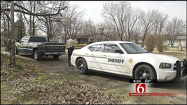 Accused Killer Calls Police After Gruesome Double Homicide In Mayes County