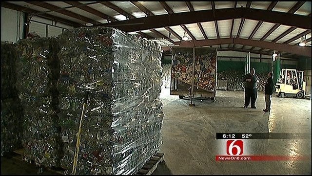 New Recycling Technique Brings Jobs To Tulsa Recycle Center