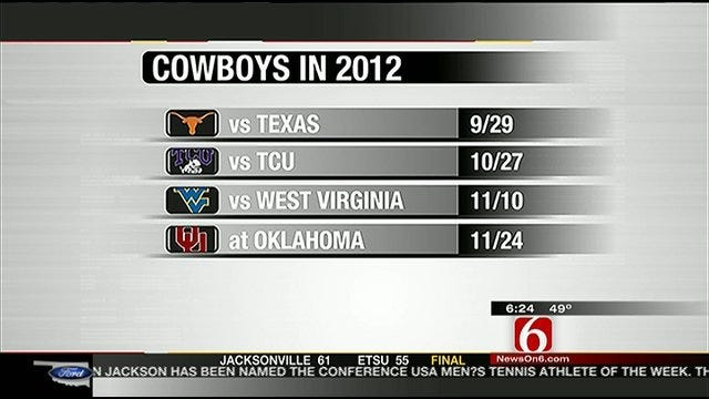 Big 12 Releases 2012 Conference Football Schedules