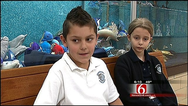 Tulsa Elementary Students Inspired By Classmate's Heart