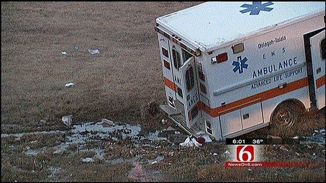Oologah-Talala Paramedic Recovering From Ambulance Crash