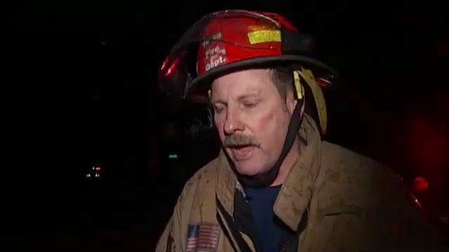 WEB EXTRA: Tulsa Fire Captain Tom Marfethek Talks About Pickup Truck Fire