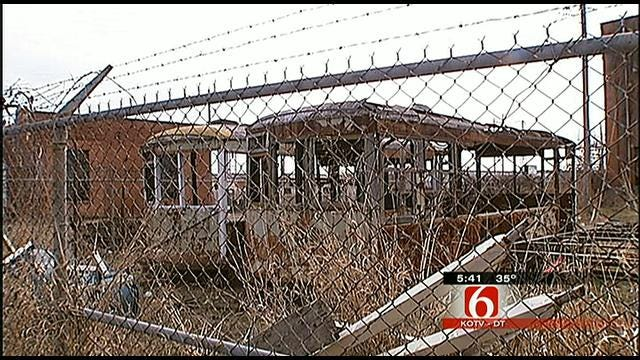 Trolley Rehab Project Preserves Tulsa's Past