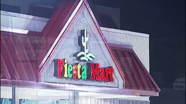 WEB EXTRA: Video From Scene Of Fiesta Mart Robbery