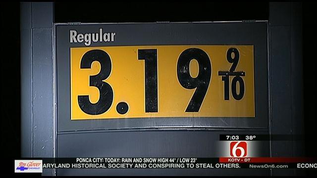 Tulsa Gas Prices Jump A Dime A Gallon