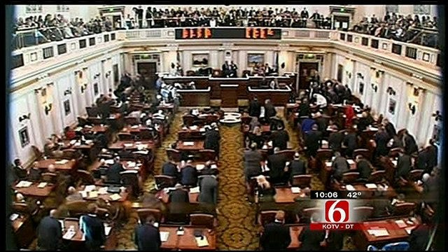 Governor Fallin Proposes Tax Cuts, Improvements To Bridges, Capitol Building