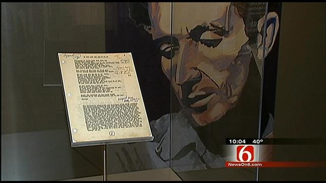 Tulsa Exhibit Honors Woody Guthrie At Gilcrease Museum