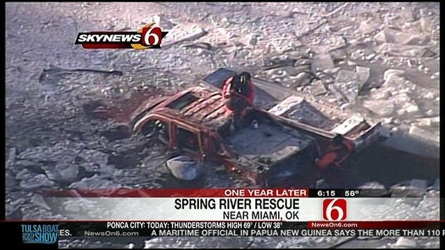 Looking Back, One Year Ago, Very Cold Spring River Rescue Near Miami