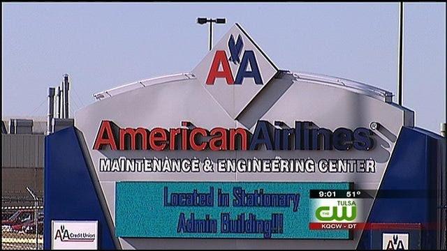 AMR Spokesman: 2,100 American Airlines Jobs To Be Cut In Tulsa