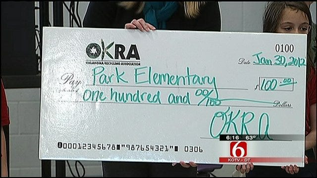 Tulsa Students Recognized For Going Green