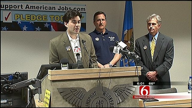 Union Announces Effort To Support American Airlines Jobs In Tulsa