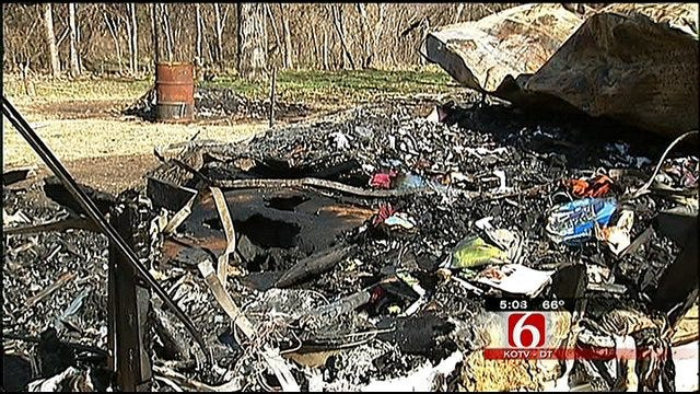 Pittsburg County Man Killed In Mobile Home Fire