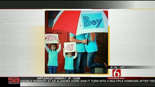 Oklahoma Family's Creative Birth Announcement