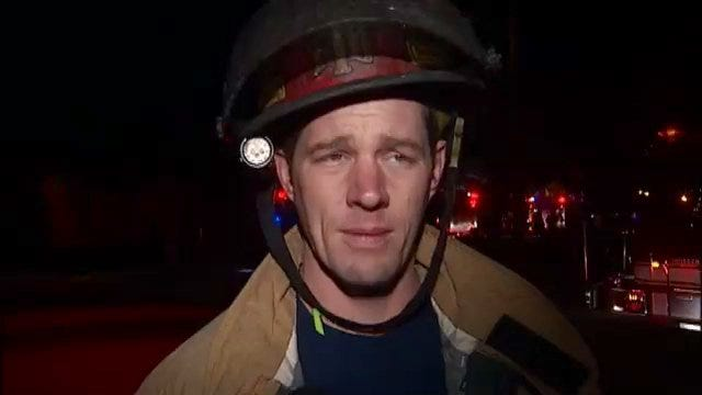 WEB EXTRA: Tulsa Fire Chief Spencer Yeager Talks About North Maplewood Fire