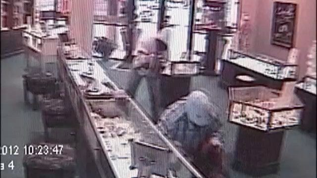 WEB EXTRA: Surveillance Video From Tulsa Cunningham Jewelry Robbery