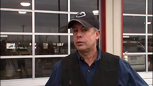 WEB EXTRA: Robertson Tire Owasso Store Manager Jim Reeves Talks About Burglary