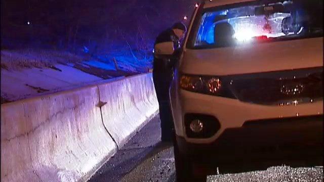 WEB EXTRA: Video From Scene Of DUI Arrest On Broken Arrow Expressway