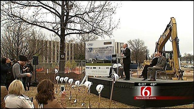 Tulsa's ORU Breaks Ground On $12.5 Million Student Center