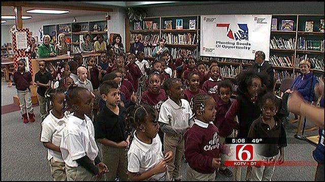 Tulsa Elementary School Gets Big Boost