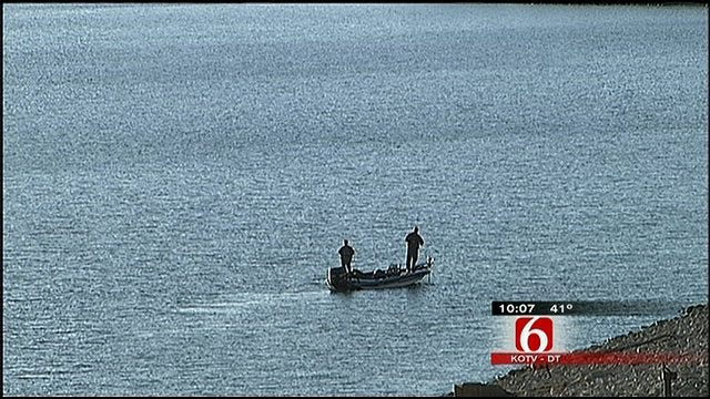 Skiatook Lake's Record Low Water Level Concerns Corps Of Engineers