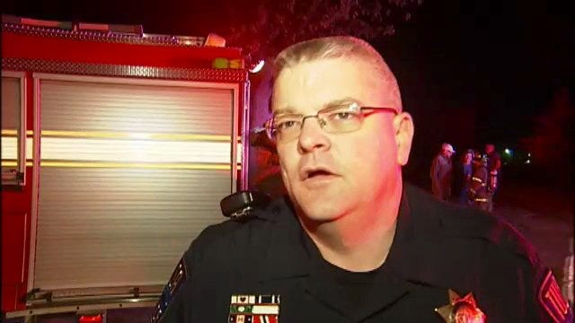 WEB EXTRA: Tulsa Police Sgt. Darren Bristow Talks About Rescue And House Fire