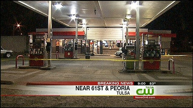 Tulsa Police Investigate Shooting At Convenience Store