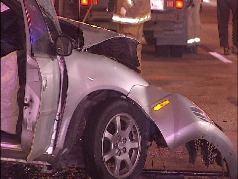 Wrong Way Driver On I-44 Suspected Of DUI Head-On Crash In Tulsa