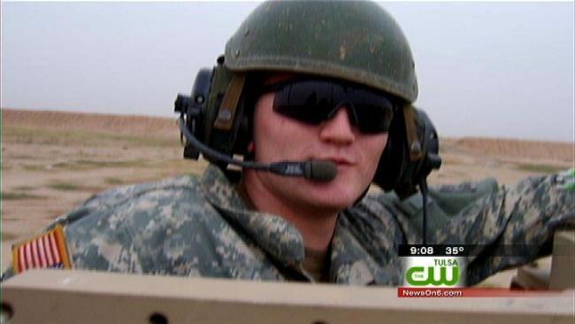 Arkansas Soldier Barely Survives Trip Through Oklahoma