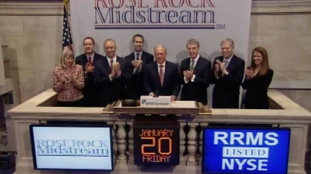 WEB EXTRA: Tulsa Businessman Rings NYSE Opening Bell Friday