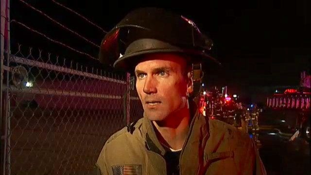 WEB EXTRA: Tulsa Fire Captain Travis Fry Talks About Vacant Building Fire