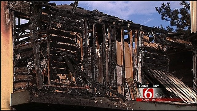 Cigarette May Have Sparked South Tulsa Apartment Fire