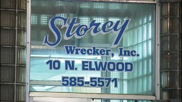 WEB EXTRA: Video From Scene Of Storey Wrecker Car Fire