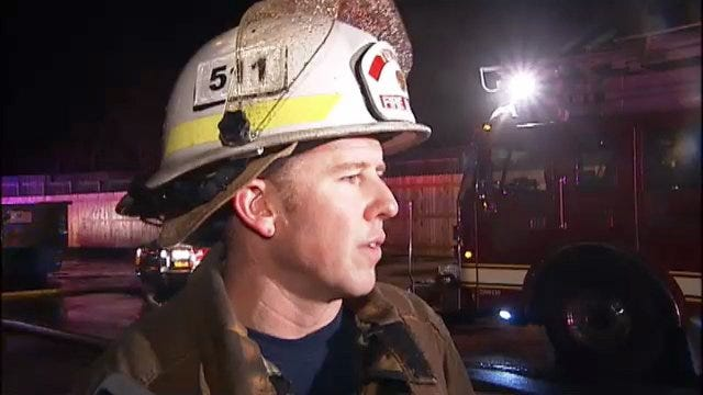 WEB EXTRA: Tulsa Fire Captain Jeremy Moore Talks About Apartment Building Fire