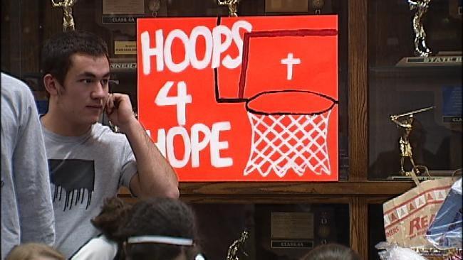 Tulsa-Area Basketball Teams Shoot 'Hoops For Hope'