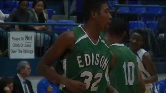Edison Boys Top Webster 76-32