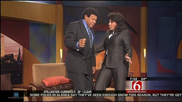 Chubby Checker Dances With Six In The Morning Anchor