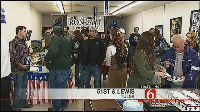 Ron Paul Opens Campaign Office In Tulsa