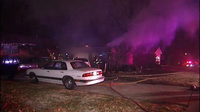 WEB EXTRA: Tulsa Family's House Damaged, Pet Lost In Fire