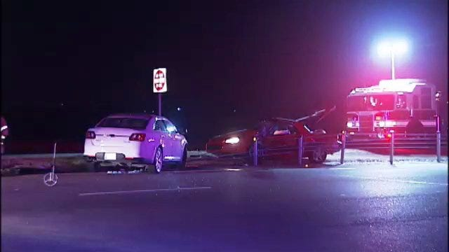 WEB EXTRA: Scenes From Fatal Wreck On Highway 75