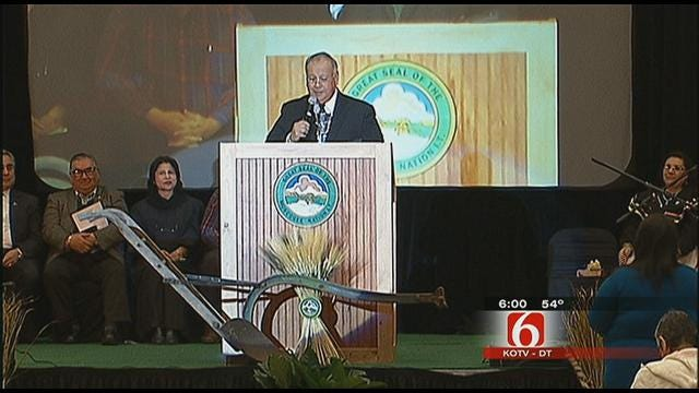 Muscogee Creek Government Inaugurated In Okmulgee