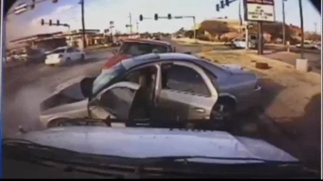 Oklahoma City Police Chase Ends In Crash