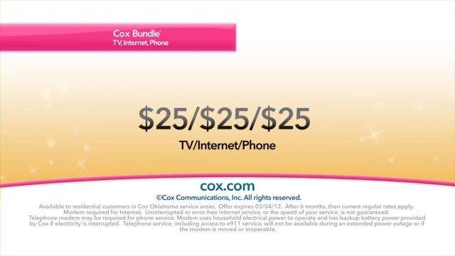 Cox Communications: Save a Bundle with Cox