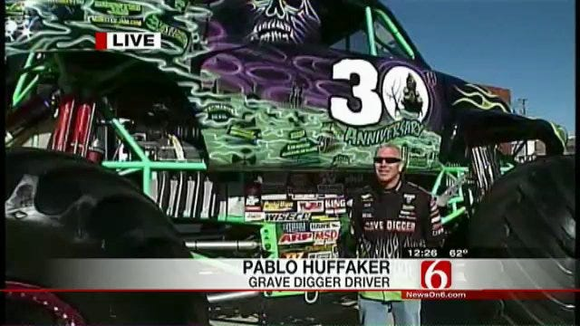Grave Digger Will Be Featured At Monster Truck Show At BOK Center