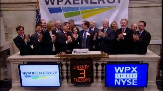 WEB EXTRA: WPX Energy's CEO Ralph Hill Rings NYSE's Opening Bell