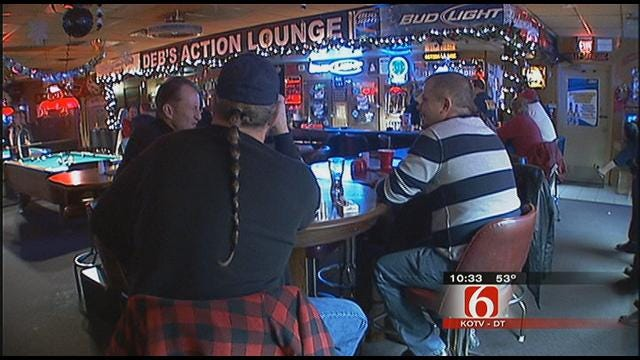 Officers Canvassing Bars For Intoxicated Patrons