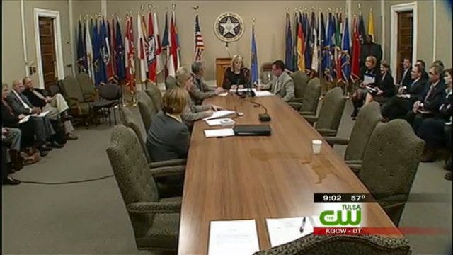 Oklahoma Board Recesses Meeting On DHS Lawsuit