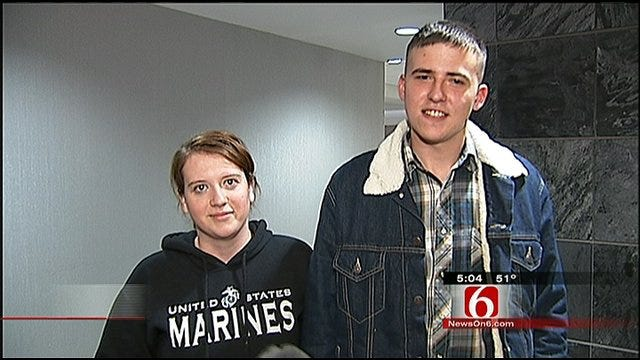 Marines Make It Home For Christmas In Tulsa