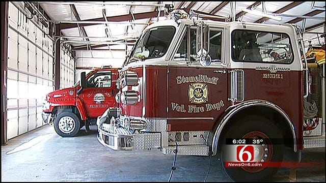 Caught On Tape: 3 Men Steal Fire Hydrants From Stone Bluff Fire Department